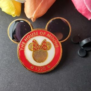 4/$25 Disney The House Minnie Mouse Pin